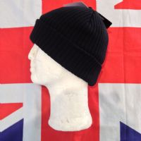 NEW KNITTED BLACK HAT WITH THINSULATE LINING